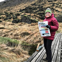 Joy Richardson trips to chilly Iceland with the Crossing.