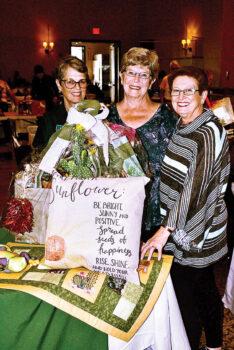 "YOTO's ""Desert Sunshine"" basket winner Gail Scheiber."