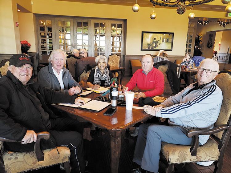 Clockwise (left to right): Paul Riggins, Craig Simpson, Yasmin John-Thorpe, Curt Dailey, and Jerry Hanks.