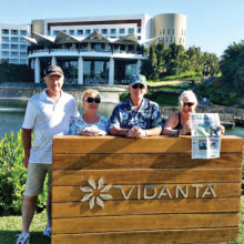 The Duvals and Hassons enjoyed a week of warm weather in Vidanta, in Nuevo Vallarta.