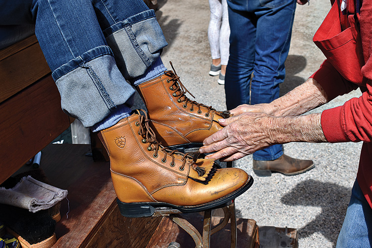 Second place - Bootshine by Doug Mutter