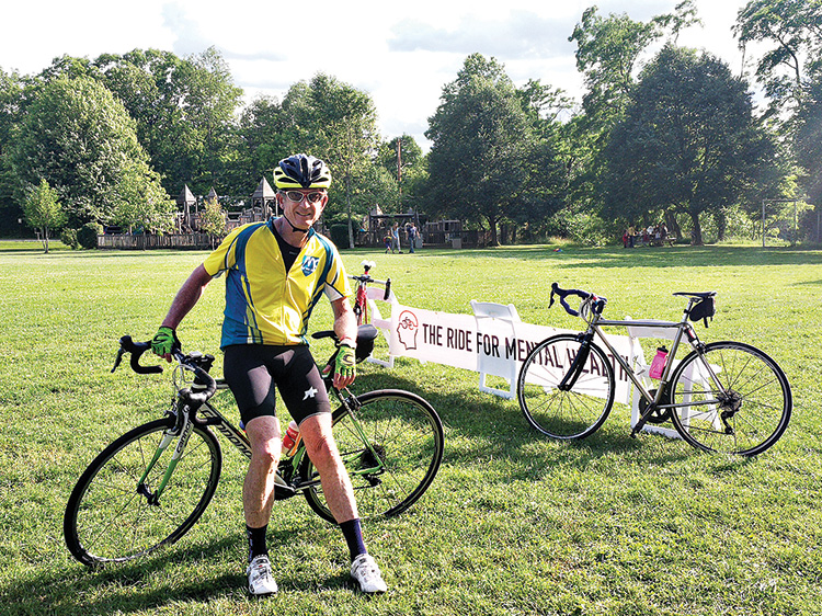 Mac Dorris, founder of the Ride for Mental Health (Photo by The Ride For Mental Health)