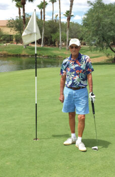 Jim Hart notched his 1,401st round on July 24 on the coyote course of shooting or beat his age of 89.