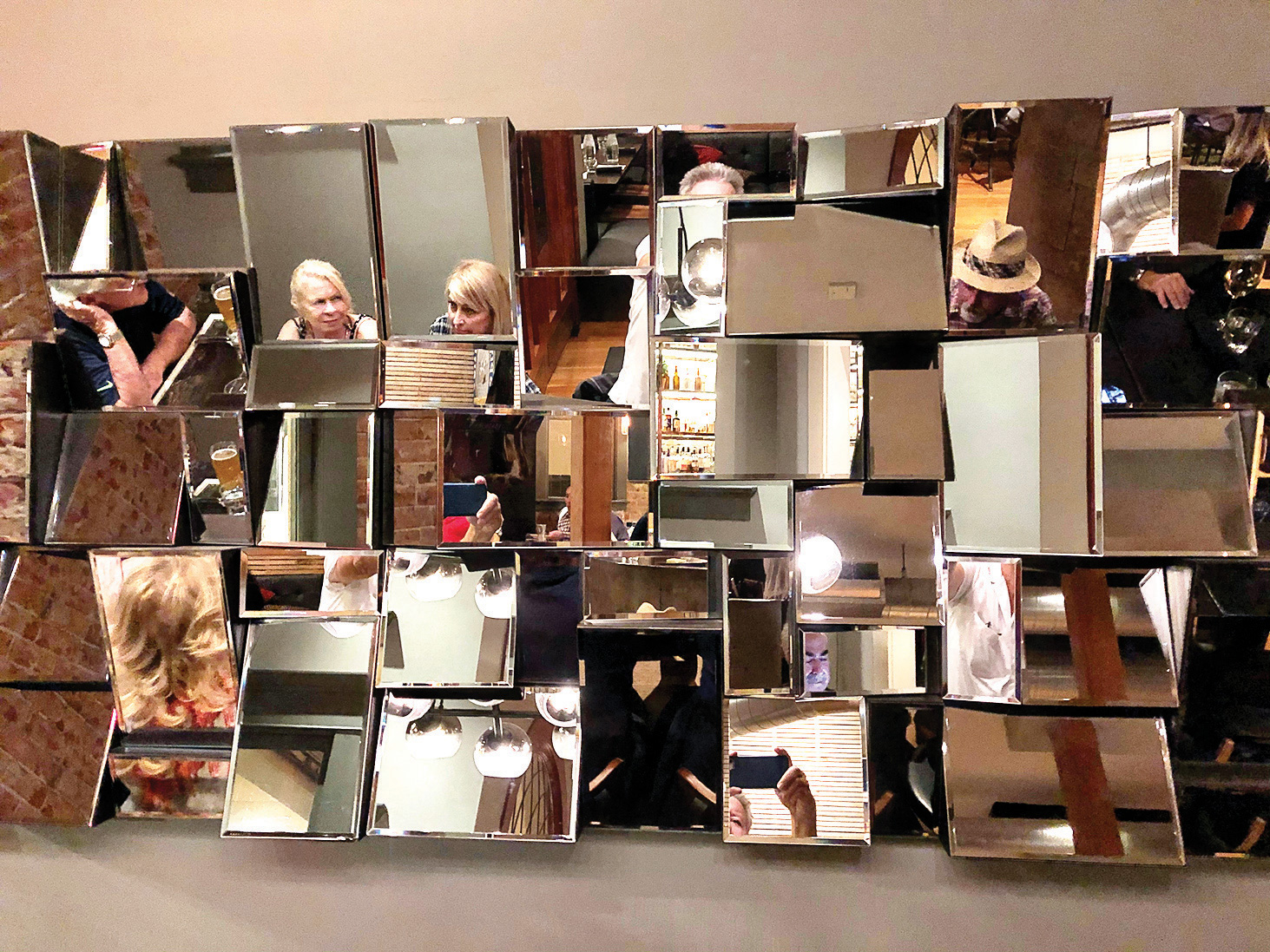 """1st Place, entry 10, Denny Huber's """"Fun With Mirrors"""""""