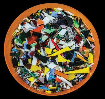 "3rd Place, entry 22, Jim Burkstrand's ""Sonoran Glass School"""