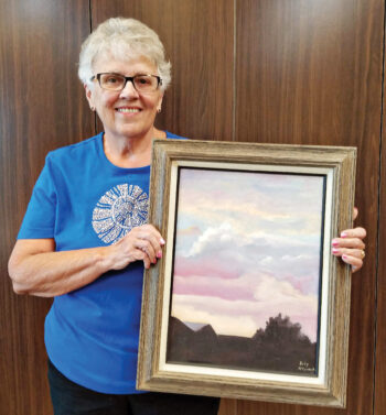 Judy McCormick, the current president of the Quail Creek Fine Arts Painting Club