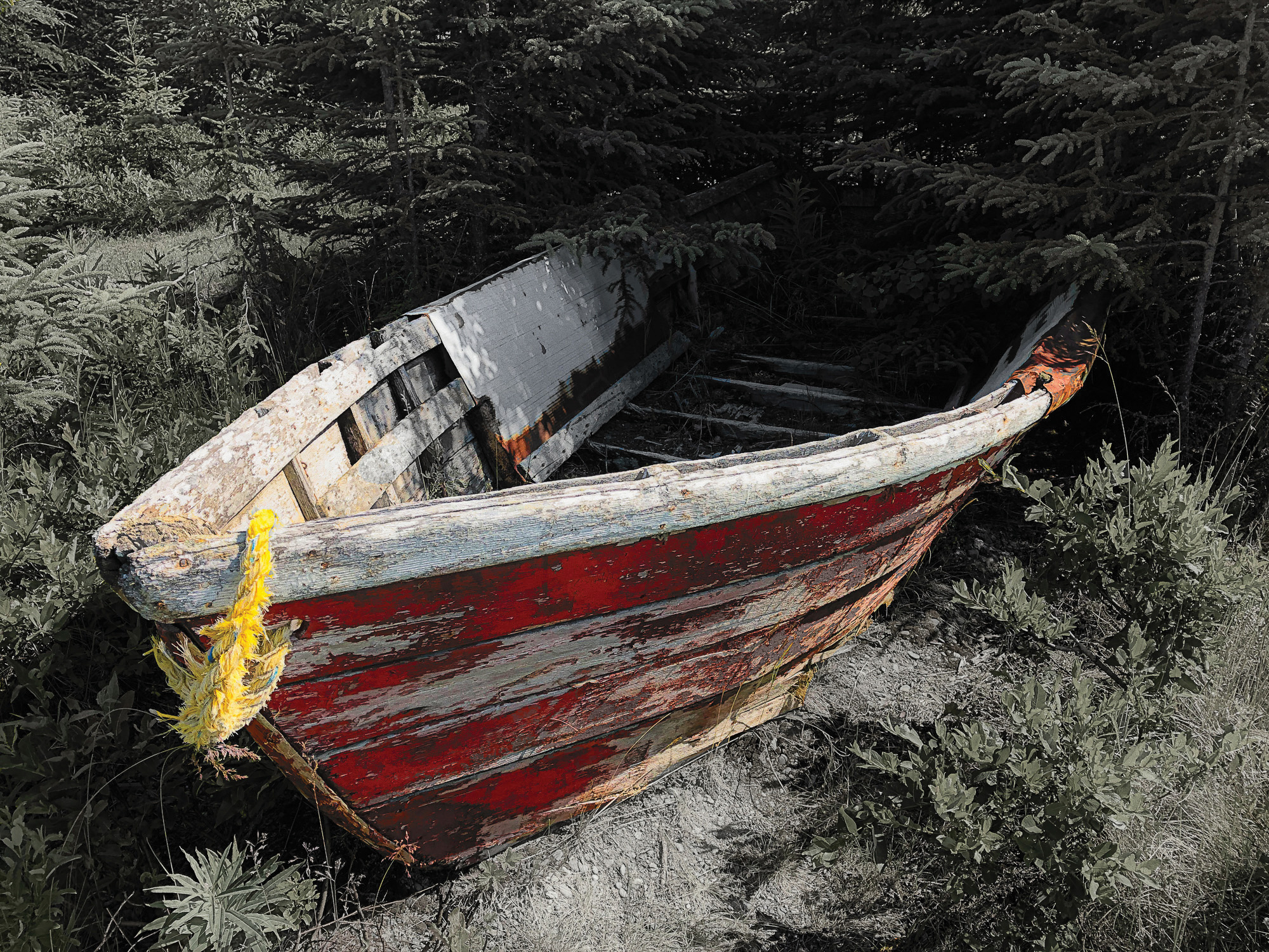 First place, entry number 12, Not So Seaworthy by Denny Huber