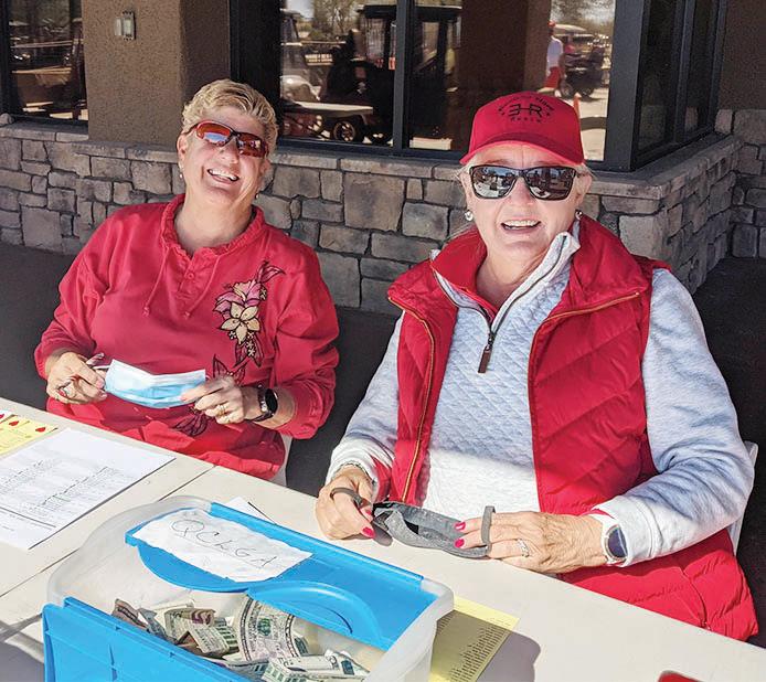 Terri Bacon (Event Coordinator) and Judith Olsen