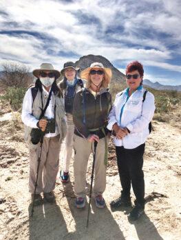 Trisha Tubbs, Alphie Smith, Mary Ann Garman, and Brenda Rock