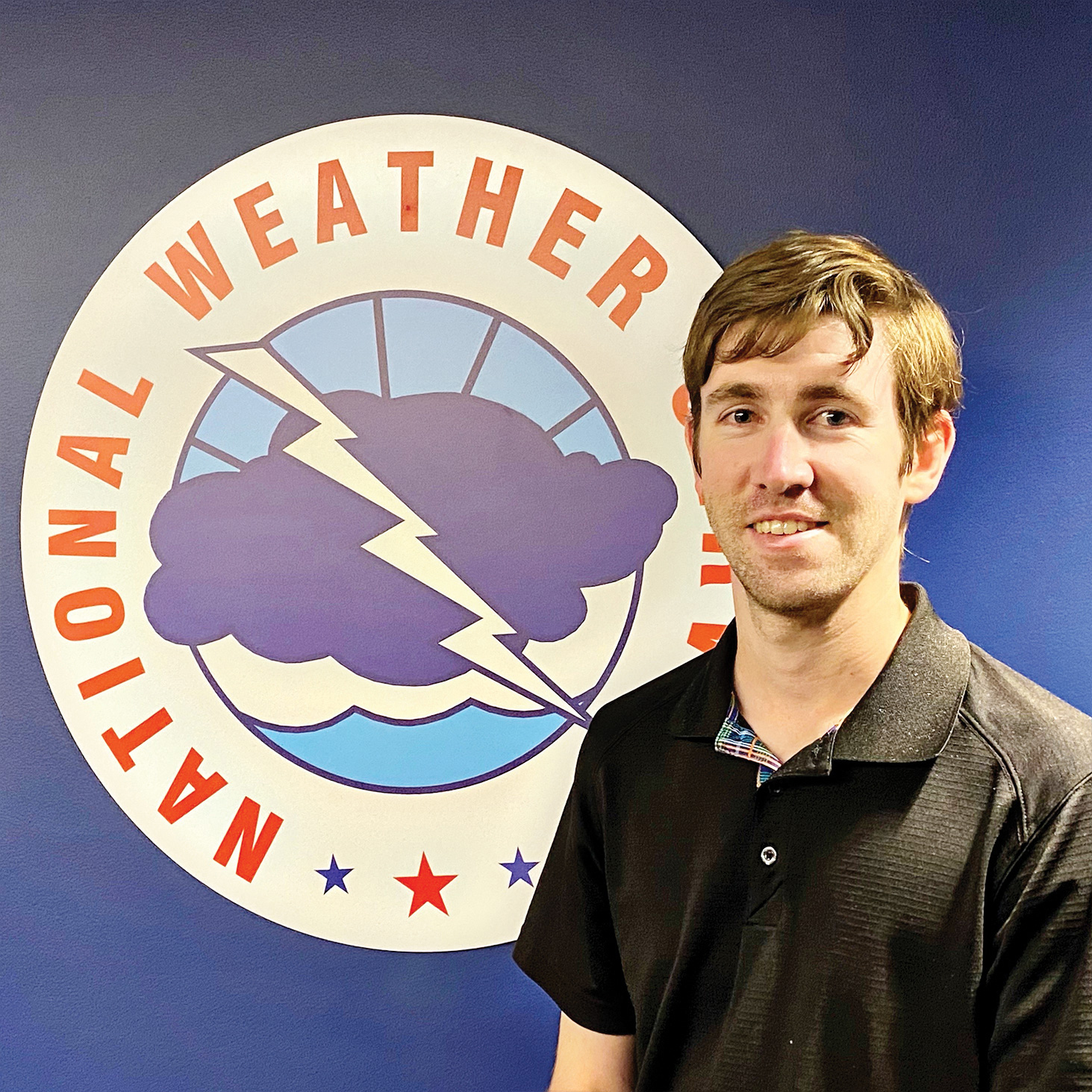 National Weather Service meteorologist Sean Benedict (Photo by NOAA's National Weather Service)