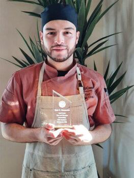 Raul Hermosillo, lead cook